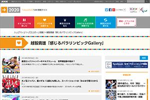 NHK WEB「感じるパラリンピックGallery」
