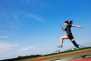 東京五輪パラリンピック招致最終プレゼンで、佐藤真海さんのスピーチ内で使用された写真